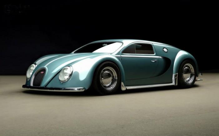 Bugatti Veyron 1945 года